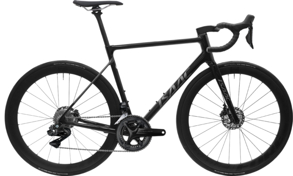 Isaac Element Crystal Black – racefiets